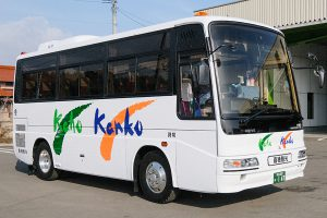 嘉穂観光の小型バス